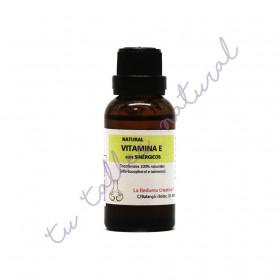 Vitamina E natural con esteroles y escualeno