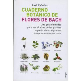 Cuaderno botánico de flores de Bach