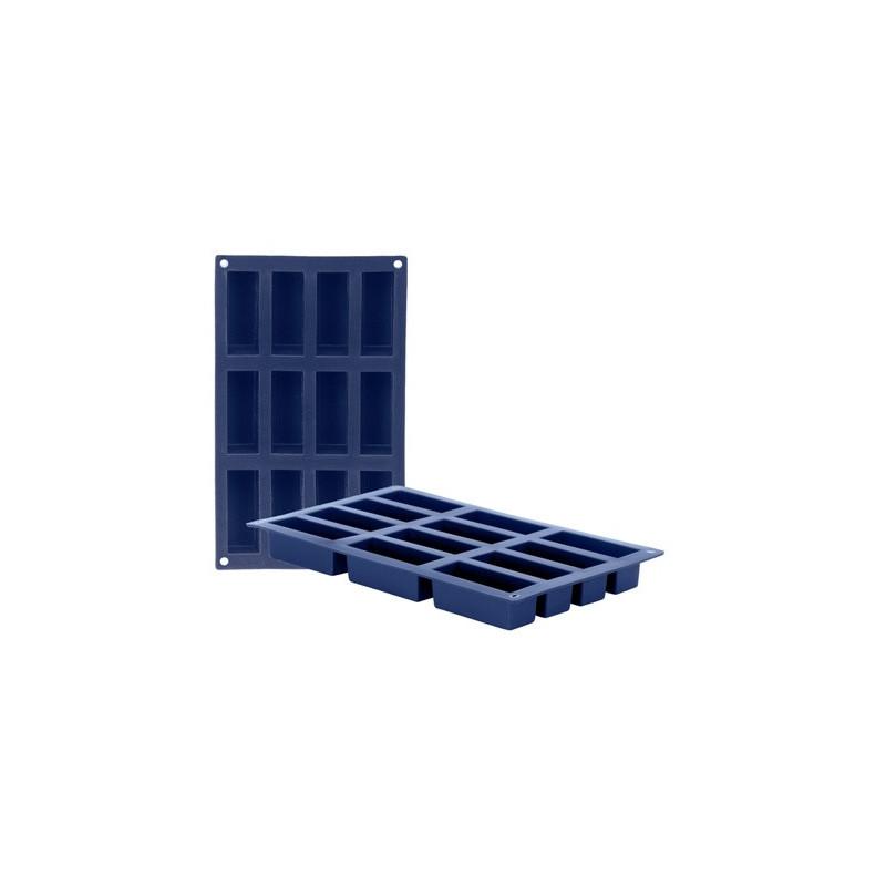 Molde Multicavidades de silicona rectangular